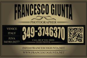 Photographer Francesco Giunta