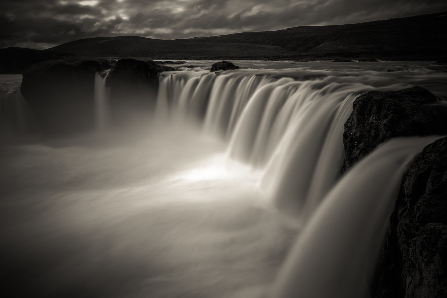 Iceland B&W
